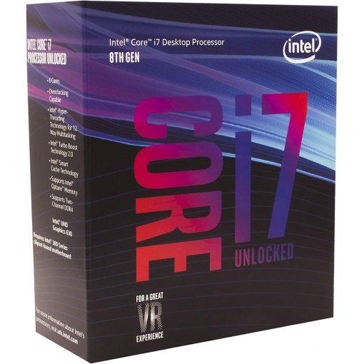 Intel Core i7-8700K 6 Core 3.7 GHz LGA 1151 Processor BX80684I78700K
