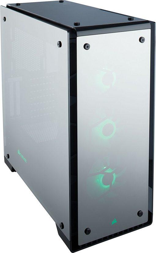 Corsair Crystal 570X RGB Mirror Black Tempered Glass ATX Mid Tower Computer Case