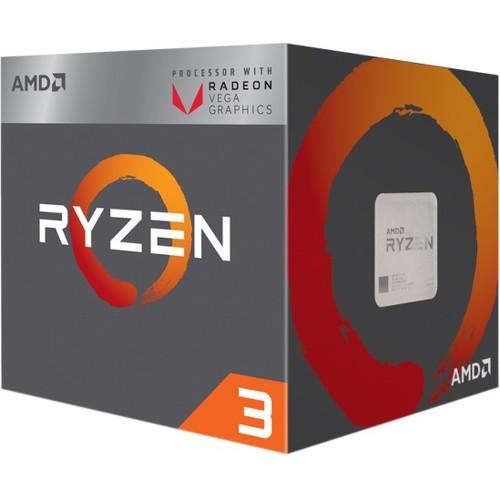 AMD Ryzen 3 2200G Processor with Radeon Vega 8 Graphics YD2200C5FBBOX