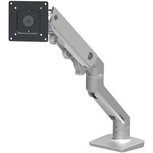 Ergotron HX Desk Monitor Arm - 42lb Load Capacity (Polished Aluminum)