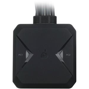 IOGEAR 2-Port USB DisplayPort Cable KVM Switch - 2 Computer(s)