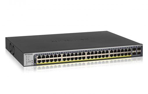 NETGEAR GS752TPP 48-Port Rack-Mount Gigabit PoE+ Smart Managed Ethernet Switch