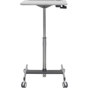 Ergotron LearnFit SE Sit-Stand Desk - Medium Gray