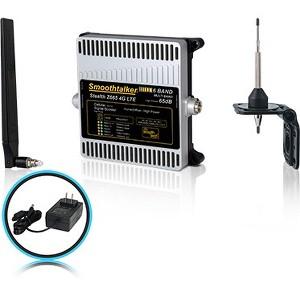 Smoothtalker Stealth Z6 65dB 4G LTE High Power 6 Band Cellular Signal Boost Kit