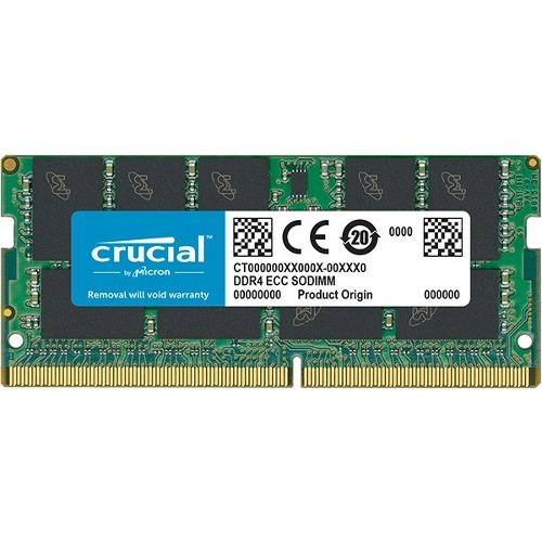 Crucial 16GB (1x16GB) DDR4 2666MHz 260pin ECC SoDIMM Memory Module CT16G4TFD8266