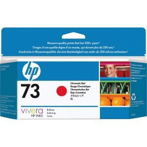 HP 73 130-ml Chromatic Red DesignJet Ink Cartridge CD951A