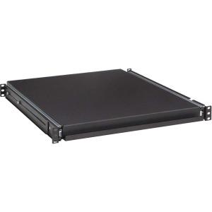 "Kendall Howard 1U 20"" Rack Mountable Sliding Shelf - 19"" 1U Wide Rack-mountable"