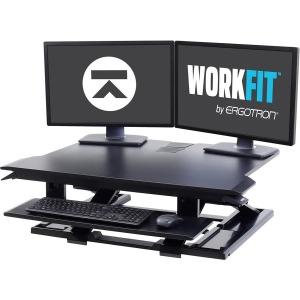 Ergotron WorkFit-TX Standing Desk Converter, Black 33-467-921
