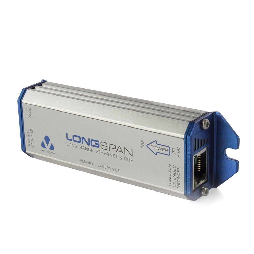 Veracity Long Range Ethernet and POE Extender VLS1PC