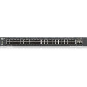 ZyXEL XGS1930-52 1U 48-Port GbE Smart Managed Switch with 4 SFP+ Uplink