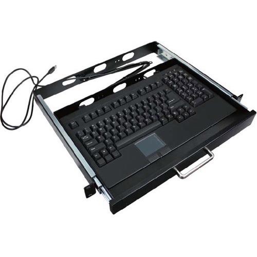 "Adesso ACK-730PB-MRP EasyTouch 730 19"" 1U Rackmount Touchpad Keyboard (USB)"