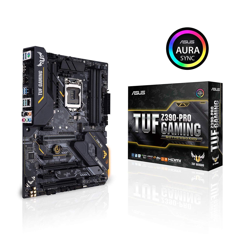 ASUS TUF Z390-Pro Gaming Intel 8th 9th Gen Z390 LGA-1151 DDR4 ATX Motherboard