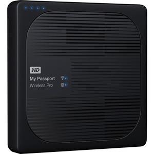 WD My Passport Wireless Pro 4TB Portable External Hard Drive - Black