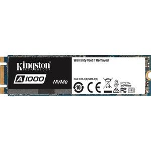 Kingston A1000 960 GB Internal Solid State Drive - PCI Express - M.2 2280