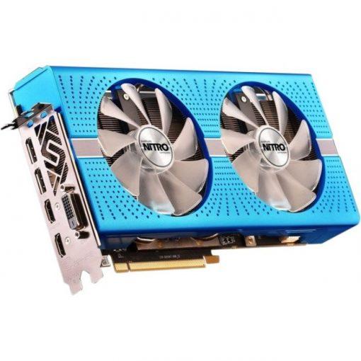 Sapphire Radeon Nitro+ RX 590 8GB GDDR5 OC Backplate Edition Graphics Card