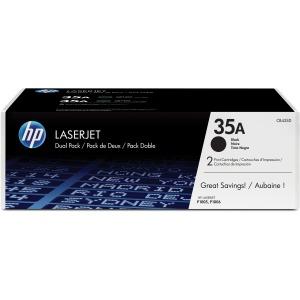 HP 35A CB435D 2-pack Black Original LaserJet Toner Cartridges CB435D