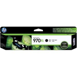 HP 970XL High Yield Black Original Ink Cartridge Black CN625AM