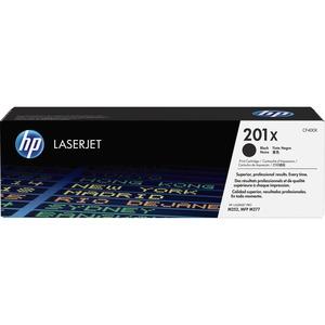 HP 201X High Yield Black Original LaserJet Toner Cartridge CF400X