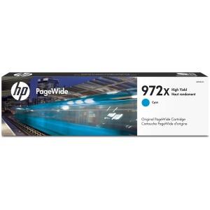 HP 972X High Yield Cyan Original PageWide Cartridge L0R98AN