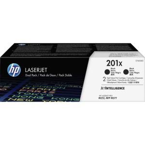 HP 201X High Yield Black Original LaserJet Toner Cartridge 2 Pack CF400XD