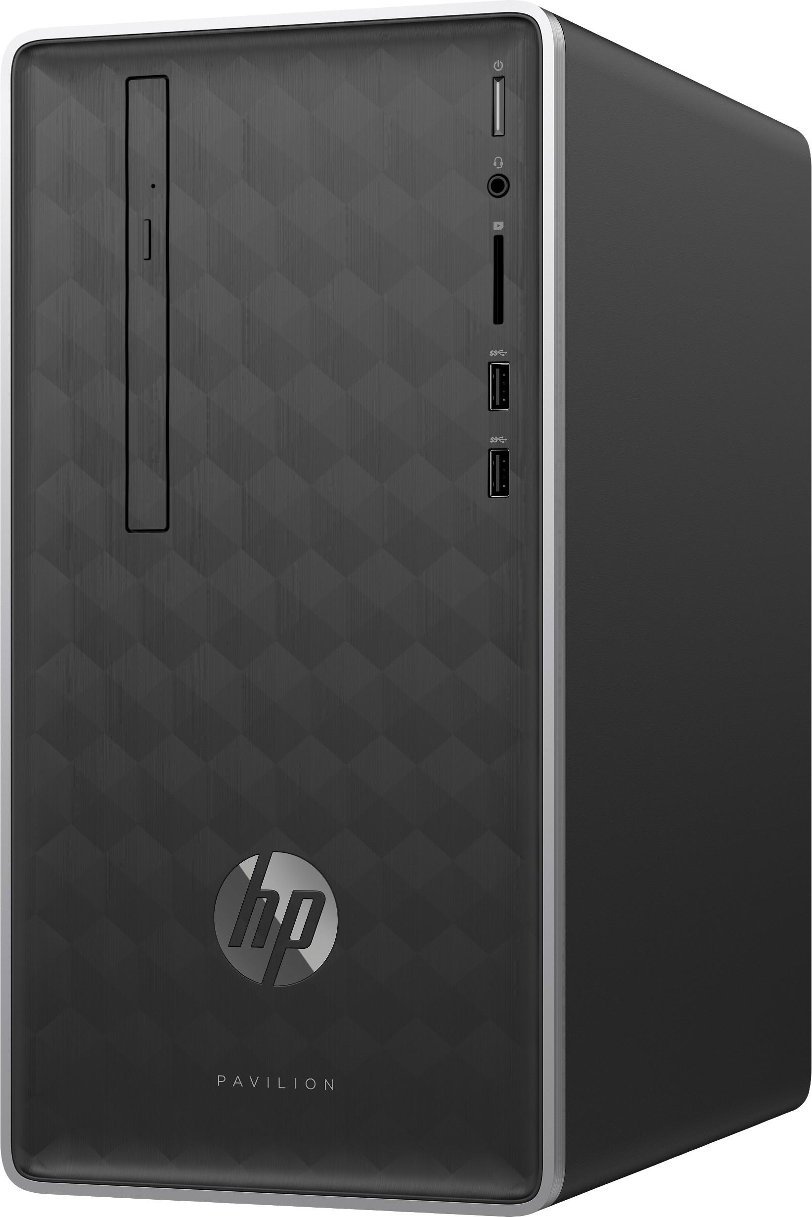HP Pavilion 590-p0055qe Desktop Computer i7-8700 12GB 1TB 16GB SSD Win10 Refurb