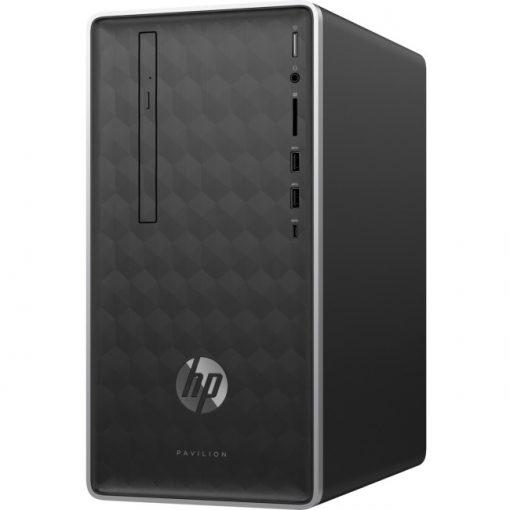 HP Pavilion 590-p0086 Desktop Computer i7-8700 8GB 1TB 16GB SSD W10H, Refurb