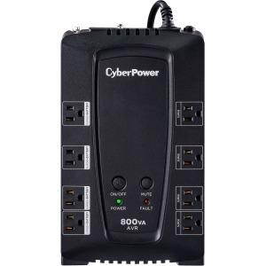 CyberPower CP800AVR 800 VA/ 450 W Line Interactive Simulated Sine Wave AVR UPS