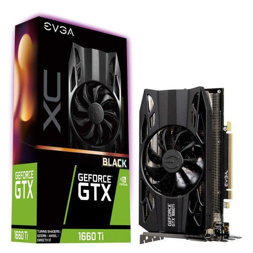 EVGA GeForce GTX 1660 Ti XC Black Gaming 6GB GDDR6 Video Graphics Card