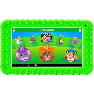 "School Zone Little Scholar Mini 7"" Tablet with Green Bumper 08611"