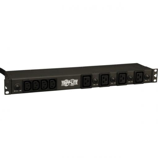 Tripp Lite PDU Basic 208V / 240V 30A 20 Outlet 15 ft Cord PDU1230