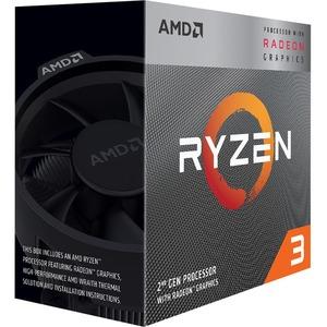 AMD Ryzen 3 3200G 4-core Unlocked Desktop Processor with Wraith Stealth Cooler