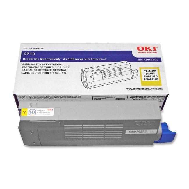 Oki Original Toner Cartridge 43866101