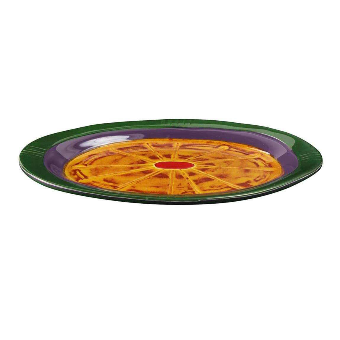 """Elite Global Solutions V1411-AS 14.87"""" Round Cantina Platter - Melamine, Multi-Color"""