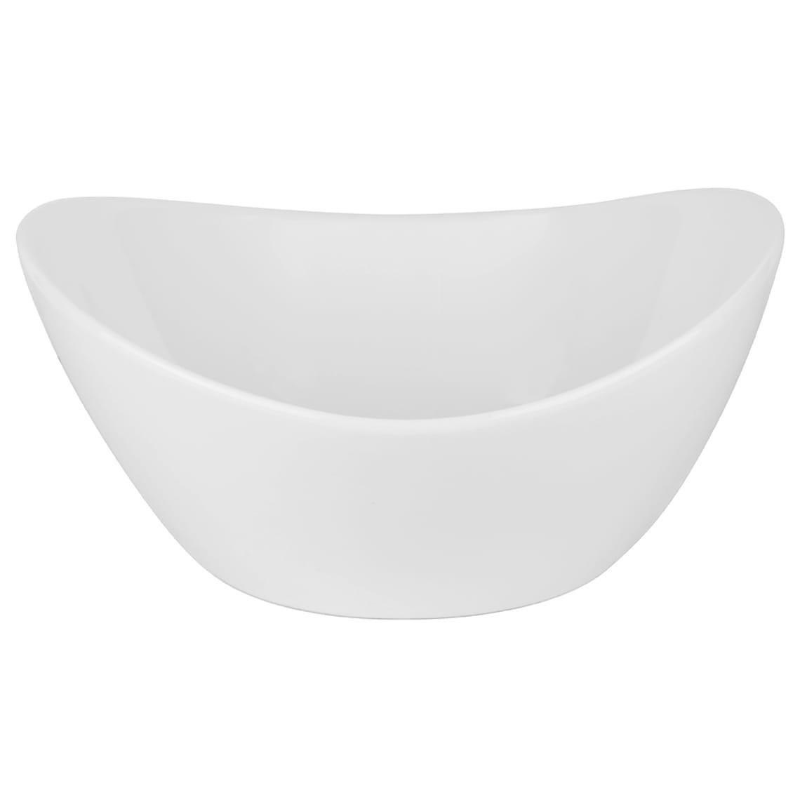10 Strawberry Street A19481 32 oz Oval Boat Bowl - Porcelain, White