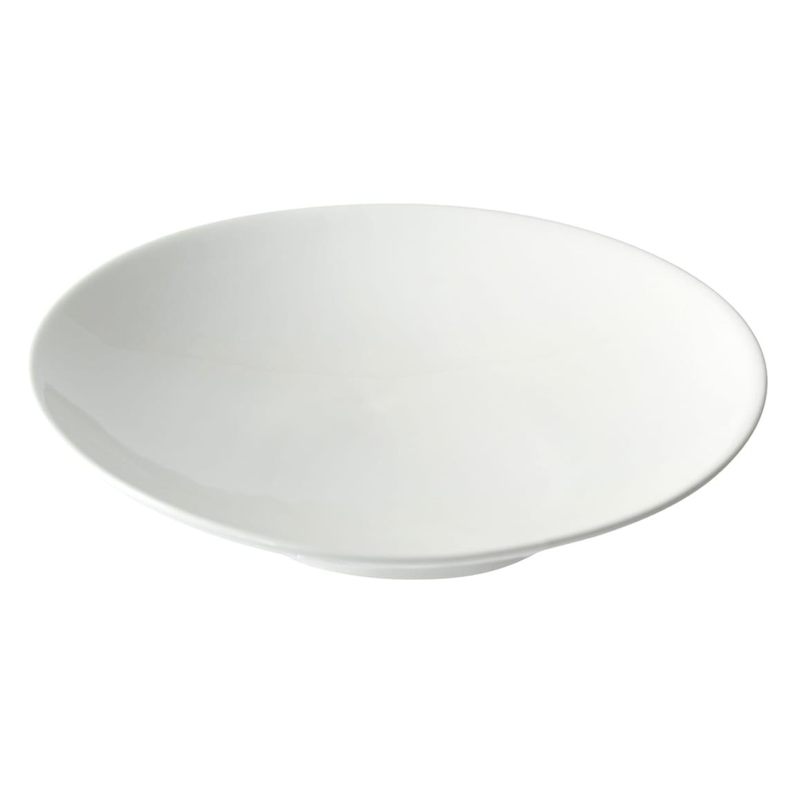 10 Strawberry Street WTR-10CPSLNTBWL 20 oz Slanted Bowl - Porcelain, White