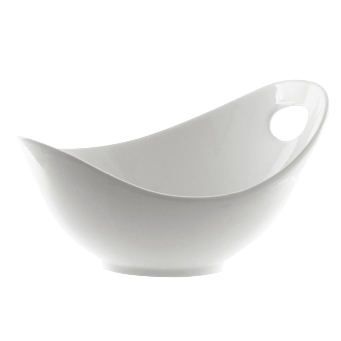 10 Strawberry Street WTR-10FBWL 34 oz Fruit Bowl - Porcelain, White