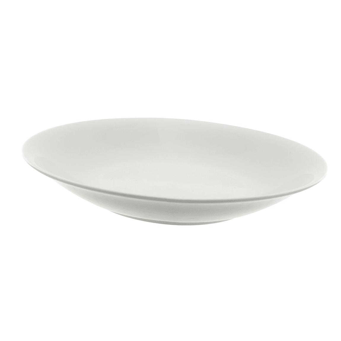 10 Strawberry Street WTR-12CPBWL 36 oz Round Bowl - Porcelain, White
