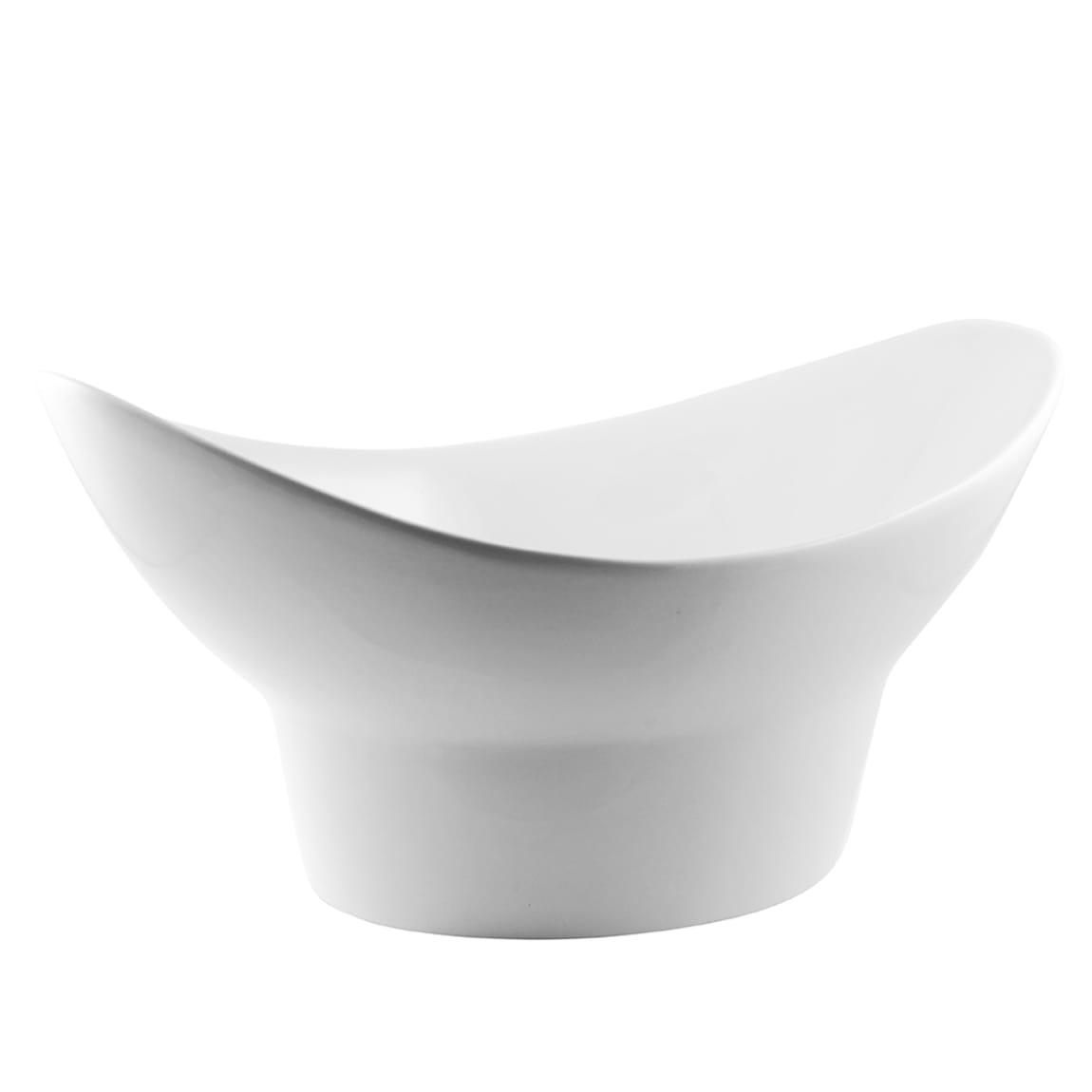 10 Strawberry Street WTR-13FTDOVLBWL 68 oz Oval Bowl -Porcelain, White