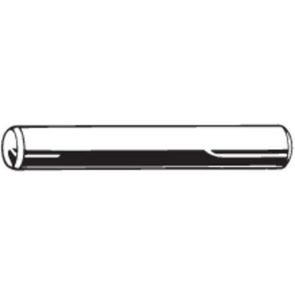 "FABORY Dowel Pin, 2"" L, Alloy Steel, Plain, PK130"