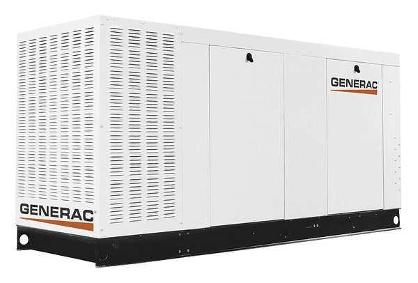 GENERAC 80 kW NG Automatic Standby Generator 277/480VAC