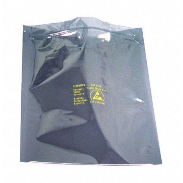 "SCS Metal-In Static Shielding Bag, 12""W, PK100"
