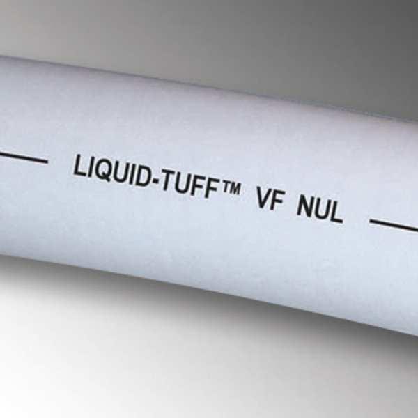 ZORO SELECT Liquid-Tight Conduit, 1 In x 100 ft, Gray
