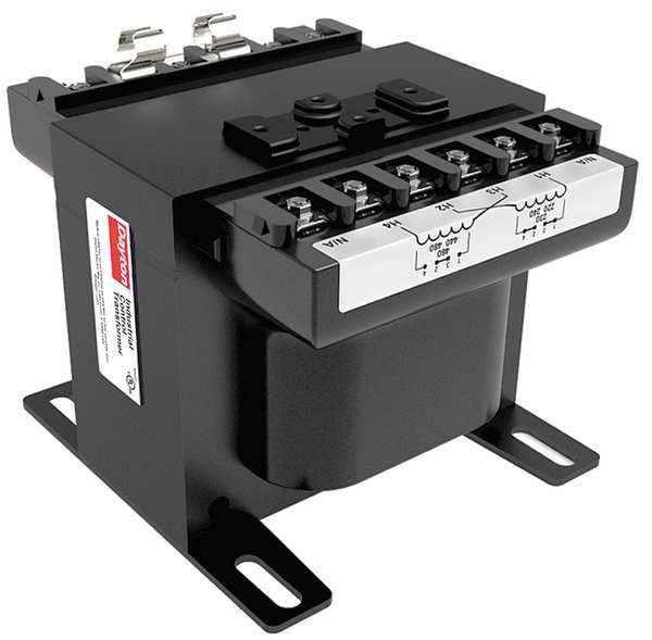 DAYTON Control Transformer, 1.5kVA, 5.90 In. H