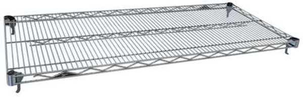 """METRO Adjustable Wire Shelf, 18""""D x 36""""W, Chrome"""
