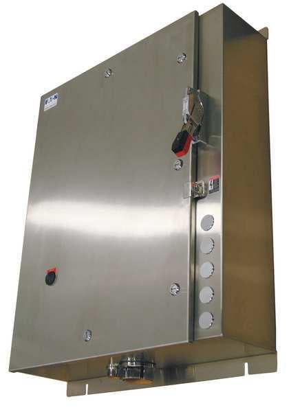 EATON NEMA Fusible Str, Size 5, 240V Coil, 4X Enc