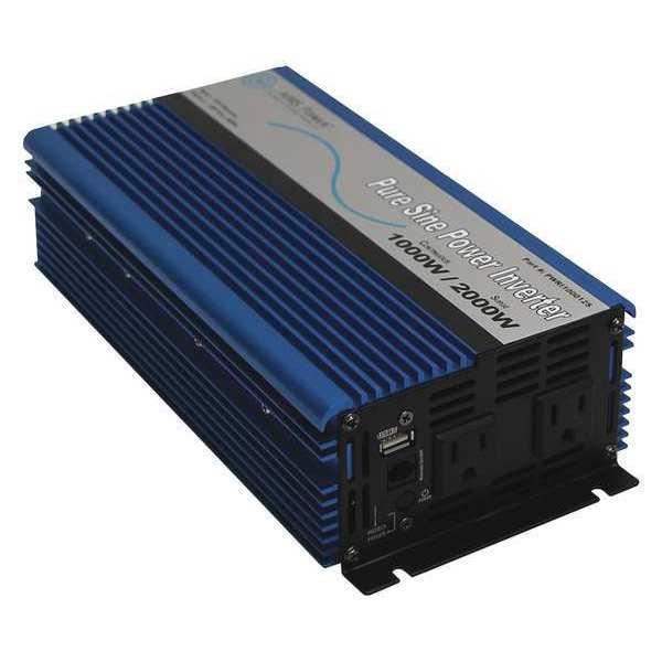 AIMS POWER Pure Sine Inverter, 1000W, 12V