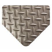 WEARWELL INC Diamond-Plate Runner Mat, 4 ft. x 33 ft.