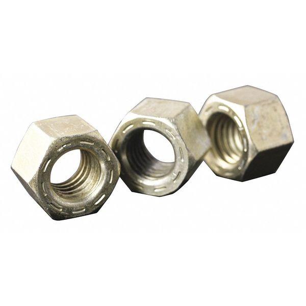 L9 Hex Nut, Steel, Gr 9, 1-1/2-12, PK5