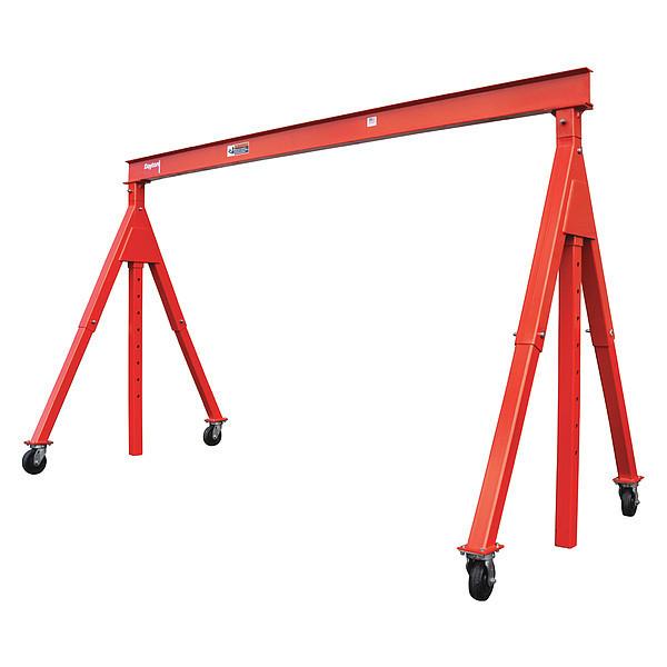 "DAYTON Portable Gantry Crane, 13 ft. 9-1/2"" Span"