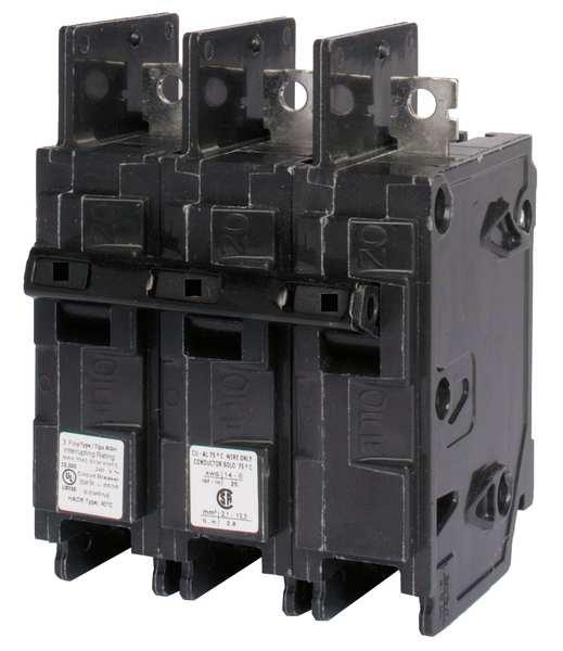 SIEMENS 3P High Interrupt Capacity Circuit Breaker 25A 240VAC